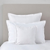 Etienne Square Cushion Cover - White