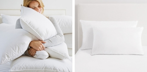European Duck Feather & Down Pillow
