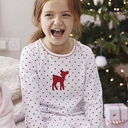 Fawn Pyjamas - White