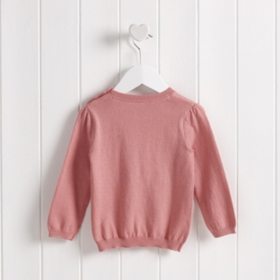 Fawn Embroidered Jumper
