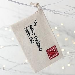 To Santa Claus Envelope