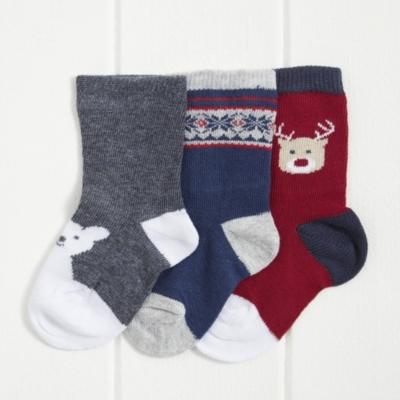 Festive socks - Pack of 3