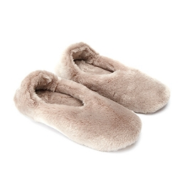 Faux Fur Cosy Slippers