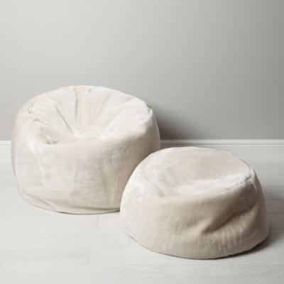 Luxury Faux-Fur Small Beanbag