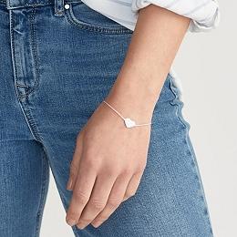 Floating Heart Bracelet