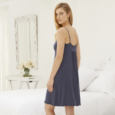 Frill Trim Jersey Night Gown