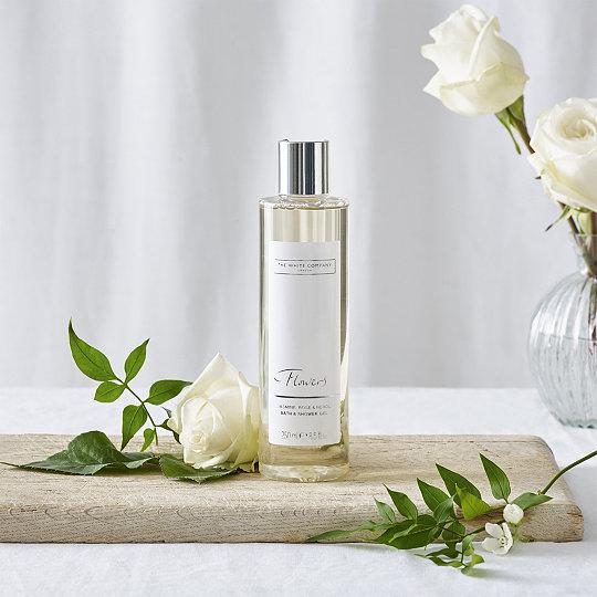Flowers bath shower gel shower gel the white company uk flowers bath shower gel mightylinksfo