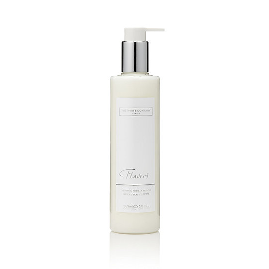 Flowers hand amp body cream body lotion the white company uk flowers hand body cream mightylinksfo