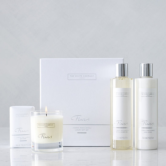 Flowers luxury gift set gift sets the white company uk flowers luxury gift set mightylinksfo