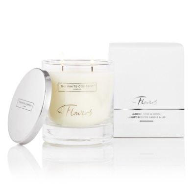 Flowers Luxury Candle with Lid