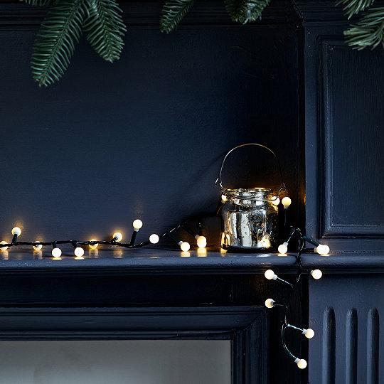 Compact Cherry Christmas Tree Lights 750 Bulbs