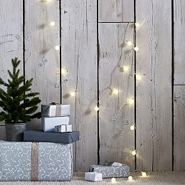 Frosted Bubble Fairy Lights – 20 bulbs