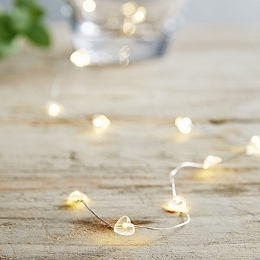 Heart Fairy Lights – 40 bulbs