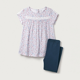 Floral Blouse & Legging Set (1-6yrs)