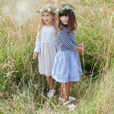 Floral Knitted Dress (1-6yrs)