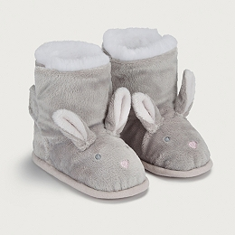 Fluffy Bunny Bootie