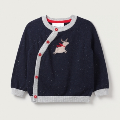 Flying Reindeer Sweater - The White Company