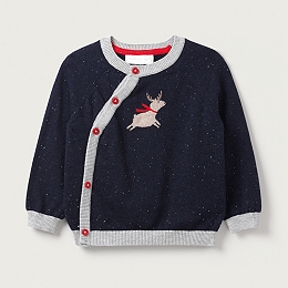 Flying Reindeer Sweater