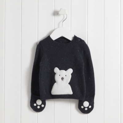 Fluffy Polar Bear Sweater