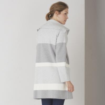 Full Milano Stripe Coatigan