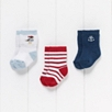 Baby Boys' First Mate Socks - 3 Pack