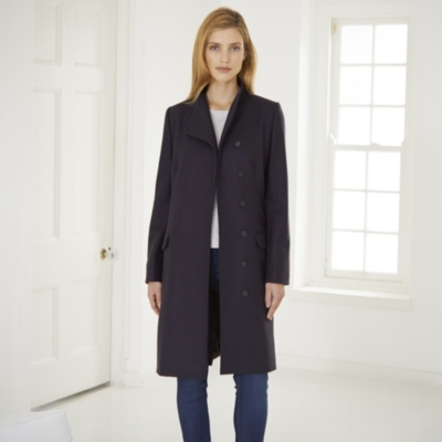 Funnel Neck Coat
