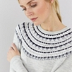 Fairisle Neckline Sweater