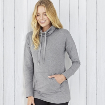 Funnel Neck Lounge Top