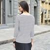 Full Needle Stripe Sweater