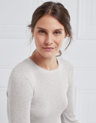 Fine Ribbed Layering Sweater