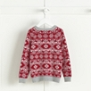 Star Motif Fairisle Sweater