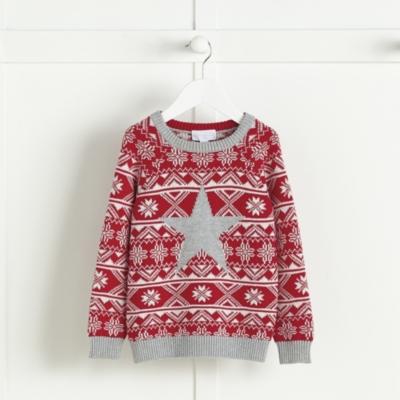 Star Motif Fairisle Sweater
