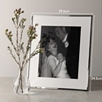 Fine Silver Frame 8x10