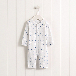 Baby Boys' Festive Star Sleepsuit