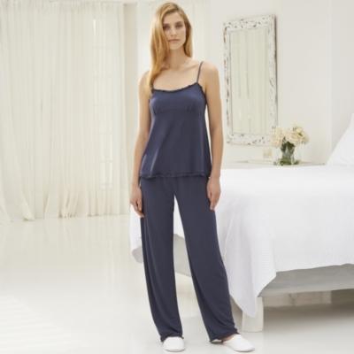 Frill Trim Jersey Pajama Cami