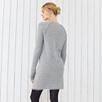 Fringe Trim Knitted Dress