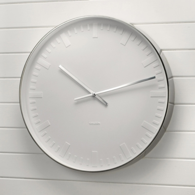 White Karlsson Clock