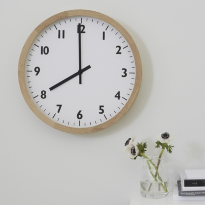 Large White Clock Part - 44: The White Company