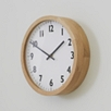 Small Oak Wall Clock