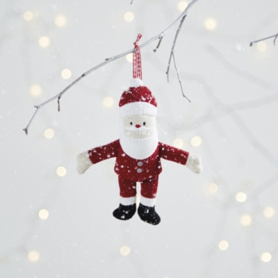 Knitted Father Christmas Decoration