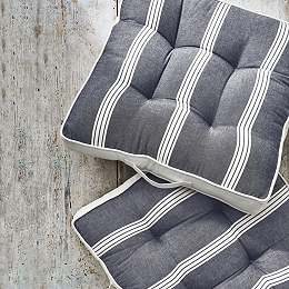 Striped Tufted Scatter Cushion