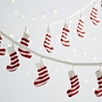 Knitted Stocking Garland