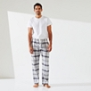 Flannel Check Pajama Bottoms