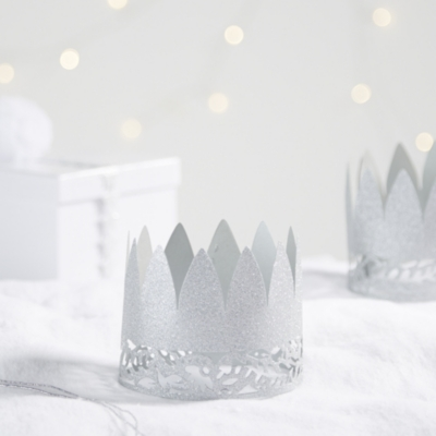 Glitter Crowns - Set of 2