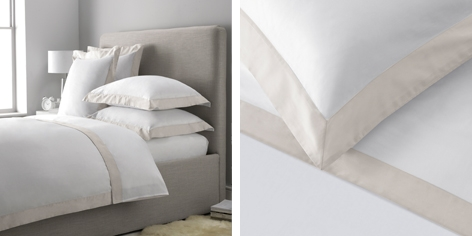 Genoa Bed Linen Collection - Putty