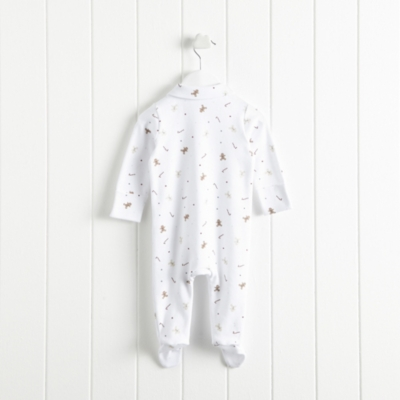 Gingerbread Collared Sleepsuit