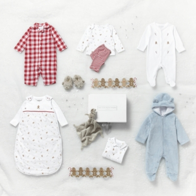 Gingerbread Motif Sleepsuit