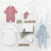 Gingerbread Embroidered Sleepsuit