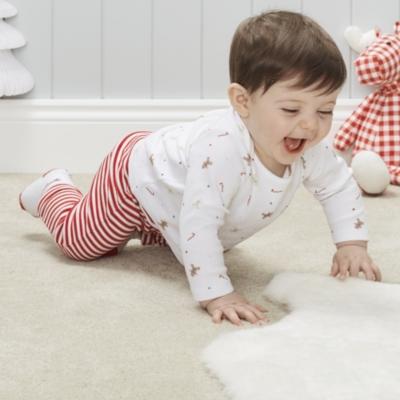 Gingerbread Stripe Pajamas