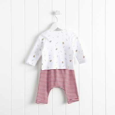 Gingerbread Stripe Pyjamas